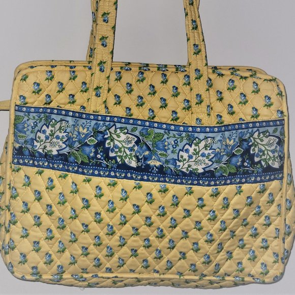 Vera Bradley Baby Bag- Large- Yellow Blue Paisley